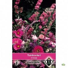 Tuinboeket in lilaroze